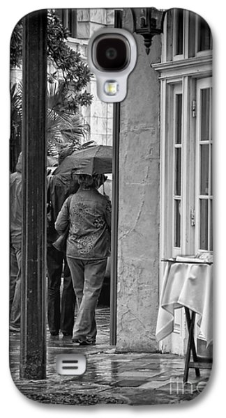 Rainy Day Lunch New Orleans Galaxy S4 Case by Kathleen K Parker