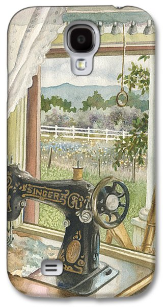 Rainy Day On The Old Farm Galaxy S4 Case by Anne Gifford