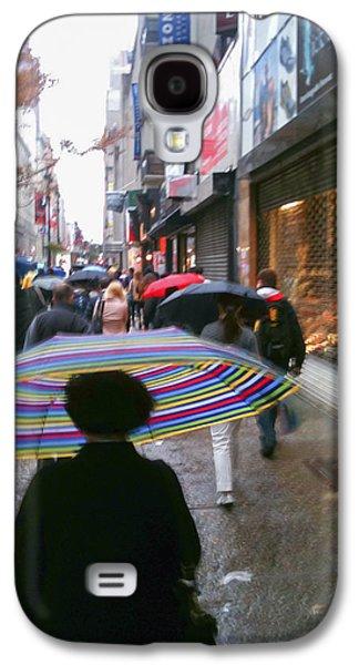 Rainy Morning 34th Street Galaxy S4 Case by Jon Woodhams