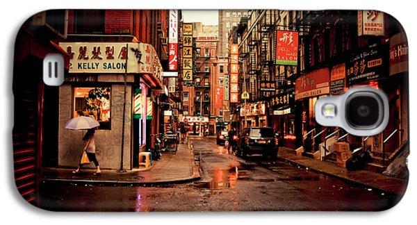 Rainy Street - New York City Galaxy S4 Case by Vivienne Gucwa