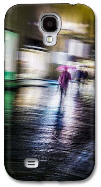 Rainy Streets Galaxy S4 Case by Alex Lapidus