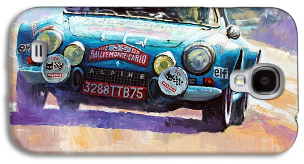 Rally Monte Carlo 1972 Alpine-renault A110 1600  Galaxy S4 Case