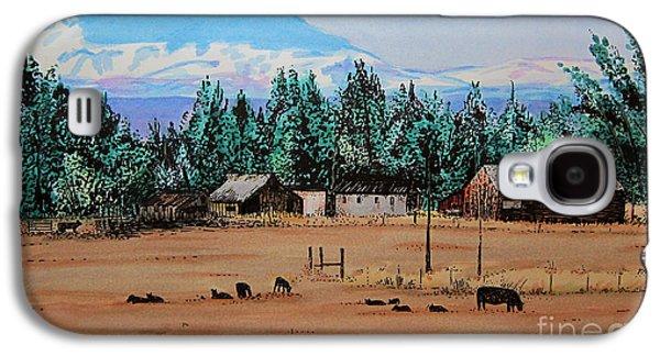 Ranch Near Sisters Oregon Galaxy S4 Case by Joseph Juvenal
