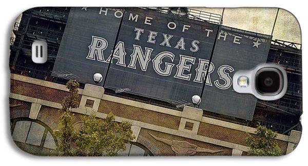 Rangers Ballpark In Arlington Color Galaxy S4 Case