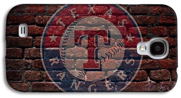 Rangers Baseball Graffiti On Brick  Galaxy S4 Case
