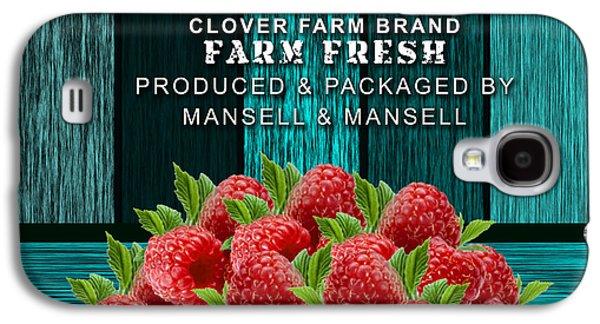 Raspberry Farm Galaxy S4 Case by Marvin Blaine