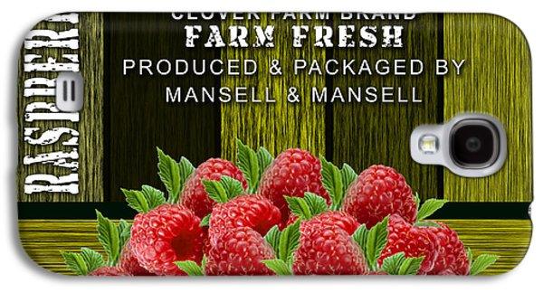 Raspberry Fields Galaxy S4 Case by Marvin Blaine