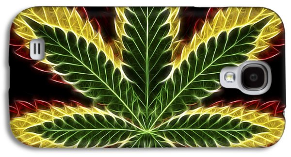 Rasta Marijuana Galaxy S4 Case