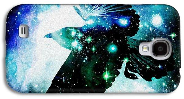 Raven Galaxy S4 Case by Anastasiya Malakhova