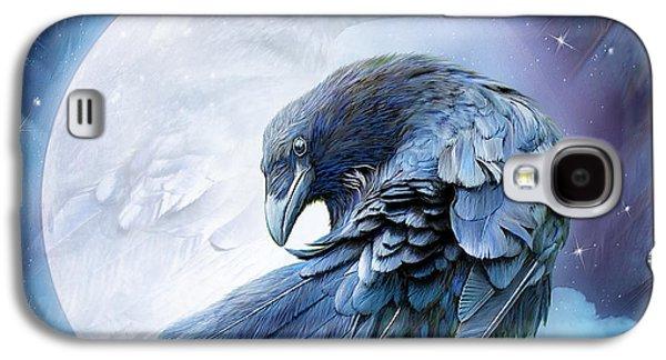 Raven Moon Galaxy S4 Case