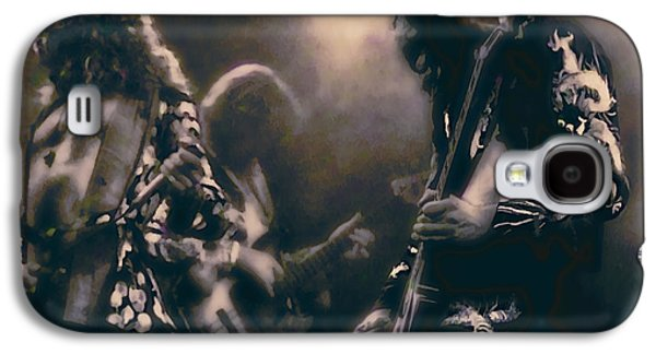 Raw Energy Of Led Zeppelin Galaxy S4 Case by Daniel Hagerman