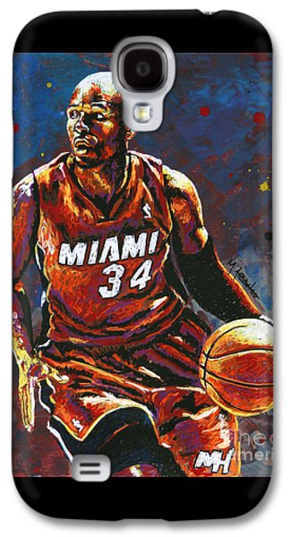 Ray Allen Galaxy S4 Case by Maria Arango