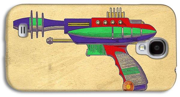 Ray Gun Patent Art Galaxy S4 Case