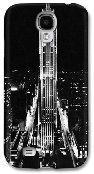 Rca Building At Night In Nyc Galaxy S4 Case