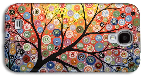 Reaching For The Light Galaxy S4 Case by Amy Giacomelli