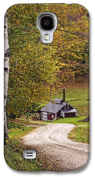 Reading Vermont Sugar Shack Galaxy S4 Case by Priscilla Burgers