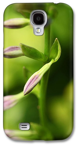 Ready To Bloom Hostas Galaxy S4 Case