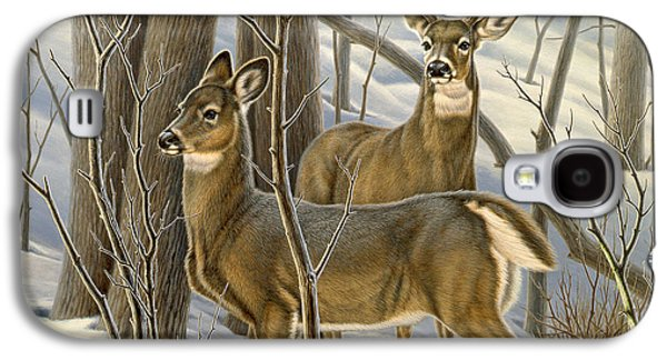Ready - Whitetail Deer Galaxy S4 Case