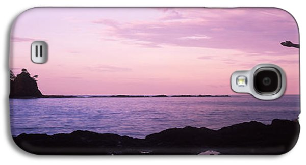 Rear View Of A Woman Exercising Galaxy S4 Case by Panoramic Images