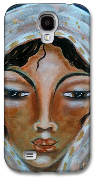 Rebekah Galaxy S4 Case by Maya Telford
