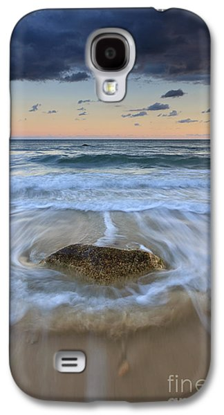 Receding Wave Stormy Seascape Galaxy S4 Case