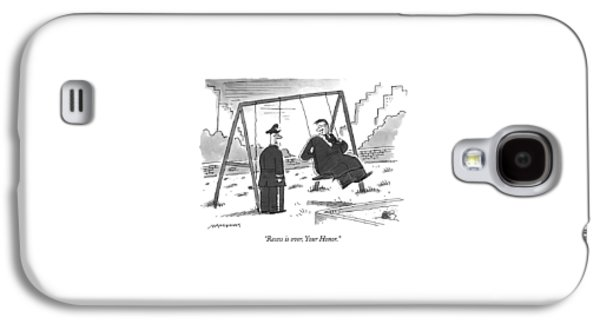 Recess Galaxy S4 Case by Mick Stevens