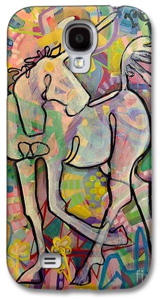 Unicorn Galaxy S4 Case - Reclaim Magic by Kimberly Santini