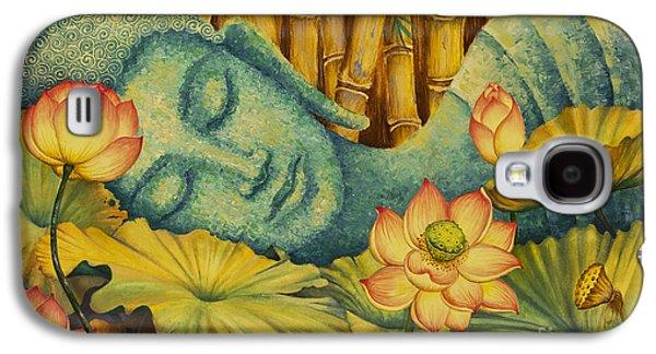 Reclining Buddha Galaxy S4 Case