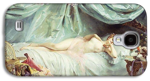 Reclining Nude In An Elegant Interior Galaxy S4 Case