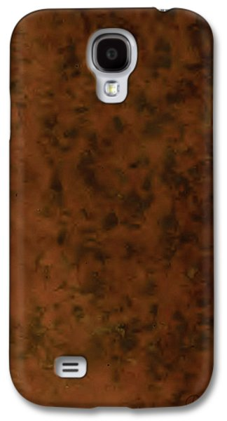 Recumbant Umber Galaxy S4 Case by Del Gaizo