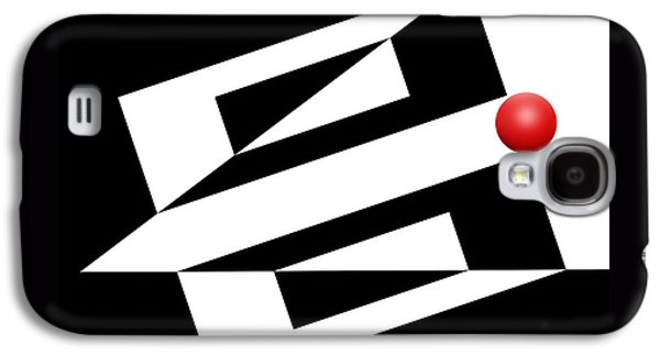 Red Ball 14 Galaxy S4 Case by Mike McGlothlen