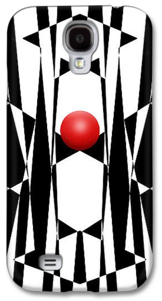 Red Ball 20 V Panoramic Galaxy S4 Case by Mike McGlothlen