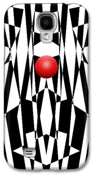 Red Ball 21 V Panoramic Galaxy S4 Case by Mike McGlothlen