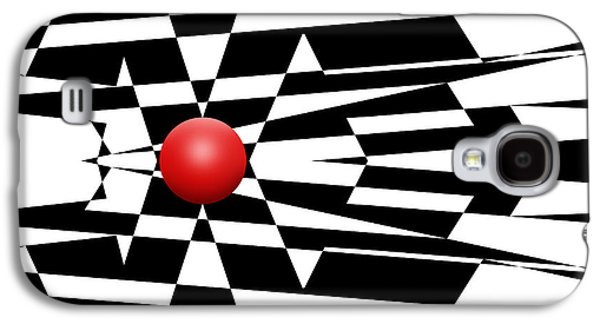 Red Ball 24 Galaxy S4 Case by Mike McGlothlen