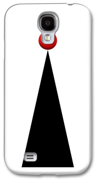Red Ball 28a V Panoramic Galaxy S4 Case by Mike McGlothlen