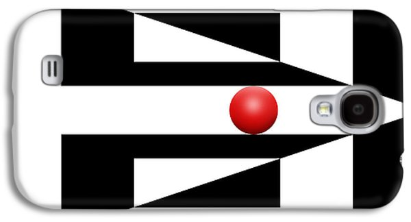 Red Ball 4 Galaxy S4 Case by Mike McGlothlen