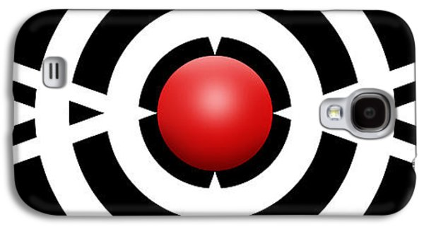 Red Ball 6a Panoramic Galaxy S4 Case by Mike McGlothlen