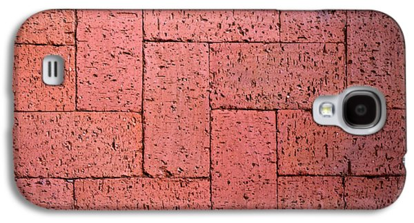 Red Burnt Bricks Galaxy S4 Case