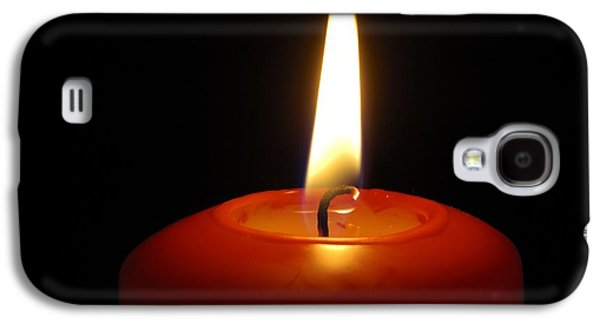Red Candle Burning Galaxy S4 Case by Matthias Hauser