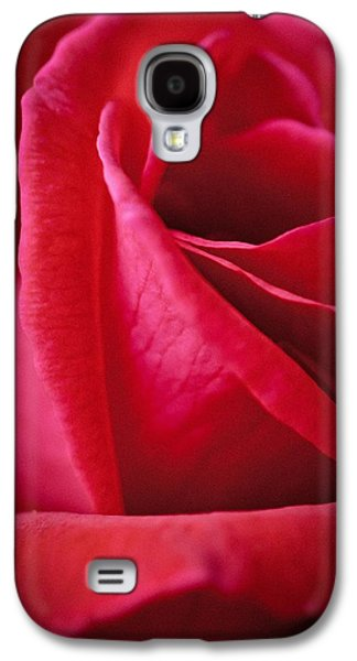 Red Galaxy S4 Case