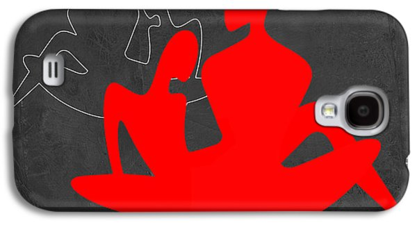 Red Couple 3 Galaxy S4 Case