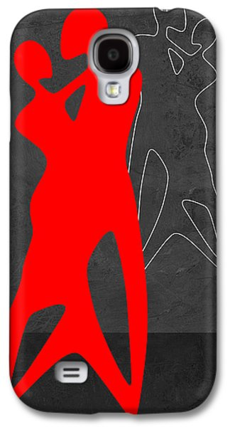 Red Couple Dance Galaxy S4 Case