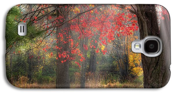 Red Dawn Square Galaxy S4 Case by Bill Wakeley