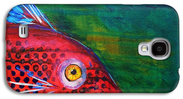 Red Fish Galaxy S4 Case