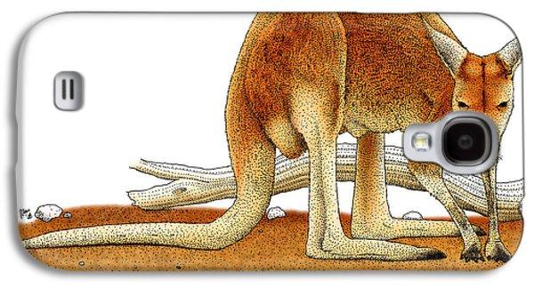 Red Kangaroo Galaxy S4 Case