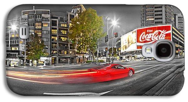 Red Lights Sydney Nights Galaxy S4 Case