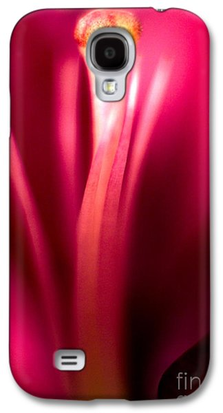 Red Lily  Galaxy S4 Case by Stelios Kleanthous