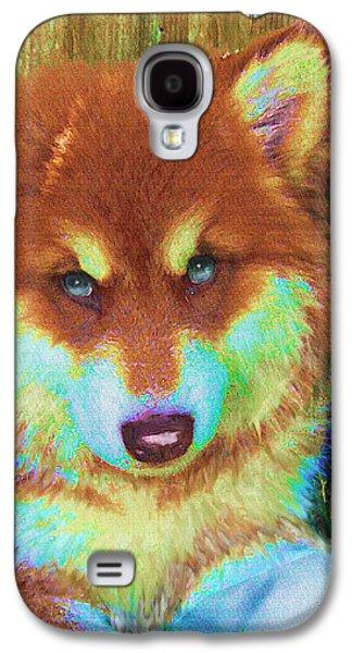 Red Malamute Galaxy S4 Case