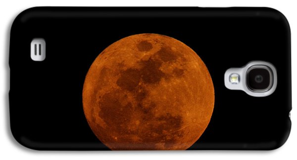 Red Moon Galaxy S4 Case