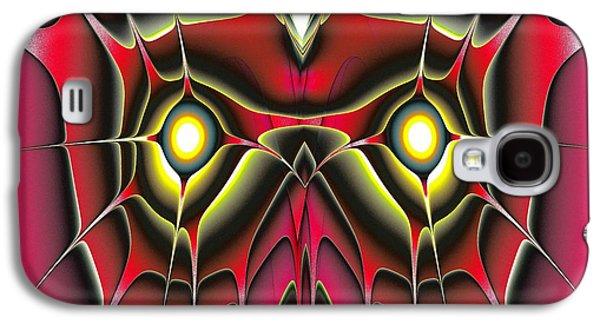 Red Owl Galaxy S4 Case by Anastasiya Malakhova